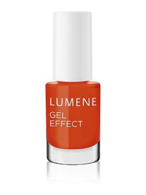 Лак для ногтей с гелевым эффектом №20 Lumene. Цвет: оранжевый