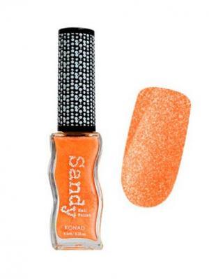 Konad NA-SNP011 Лак для ногтей с эффектом песка Sandy Nail -SDP11 Pastel Tangerine. Цвет: оранжевый