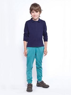 Рубашка-поло VILATTE. Цвет: темно-синий
