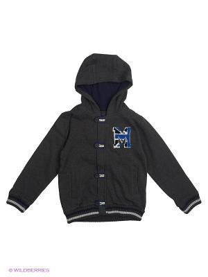 Куртка Mayoral. Цвет: темно-серый