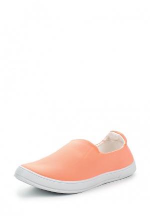 Слипоны Marquiiz. Цвет: оранжевый