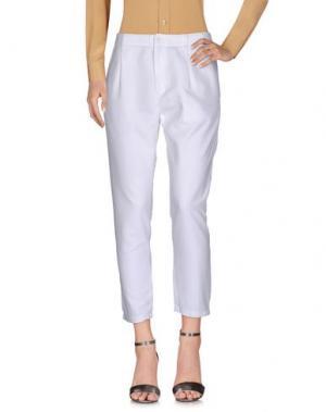 Повседневные брюки ZUCCA. Цвет: белый