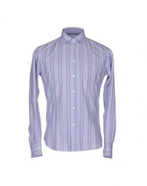 Pубашка BRANCACCIO C.. Цвет: светло-фиолетовый