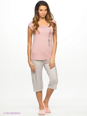 Пижама HAYS. Цвет: розовый