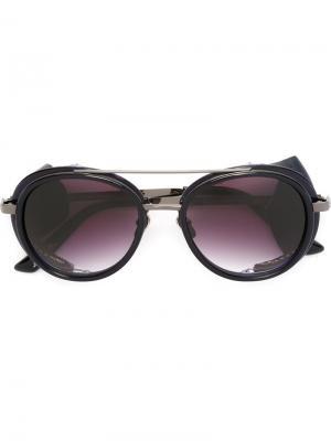 Солнцезащитные очки California Frency & Mercury. Цвет: чёрный