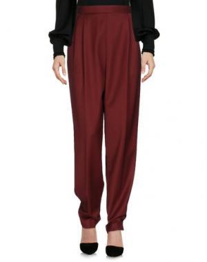 Повседневные брюки THE ROW. Цвет: кирпично-красный