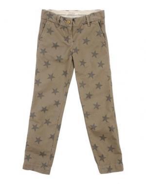 Повседневные брюки SCOTCH R'BELLE. Цвет: хаки