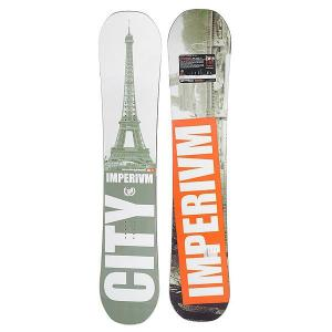 Сноуборд  City Rc 153 Grey/Orange Imperivm. Цвет: серый,оранжевый