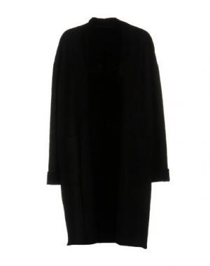 Легкое пальто SALVATORE SANTORO. Цвет: черный