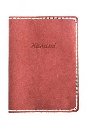 Обложка для документов Handsel. Цвет: коралловый