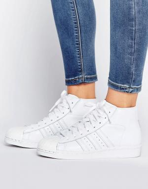 Adidas Кроссовки PROMODEL. Цвет: белый