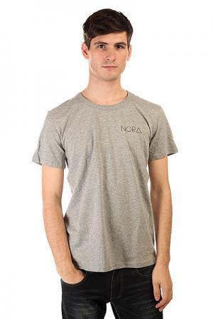 Футболка  Skateboards Logo Tee Shirt Grey Nord. Цвет: серый