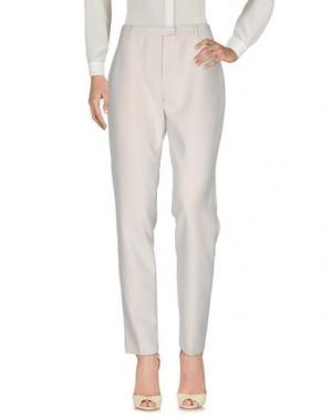 Повседневные брюки NICE THINGS BY PALOMA S.. Цвет: светло-серый