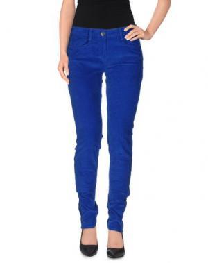 Повседневные брюки SANDRO. Цвет: ярко-синий