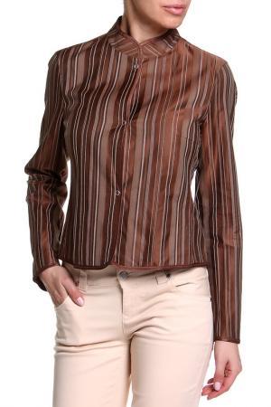 Жакет Riani. Цвет: коричневый, бежевая полоса