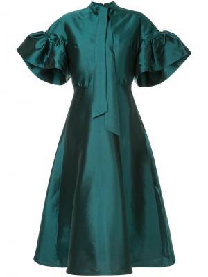 Платье Liam Greta Constantine. Цвет: розовый и фиолетовый