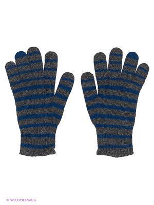 Перчатки Maxval. Цвет: темно-серый, синий