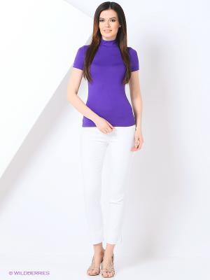 Водолазка RUXARA. Цвет: фиолетовый, синий