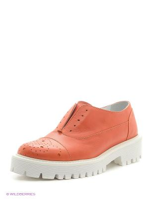 Туфли Gavary. Цвет: рыжий