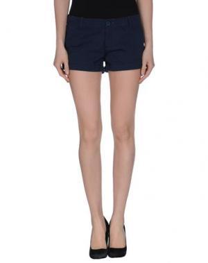 Повседневные шорты MANILA GRACE. Цвет: темно-синий