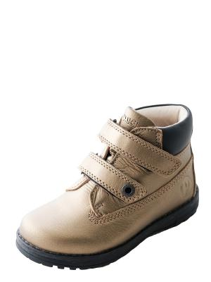 Ботинки для мальчика PRIMIGI. Цвет: золотистый