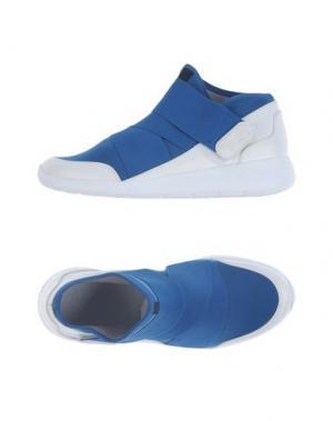 Высокие кеды и кроссовки FESSURA. Цвет: синий