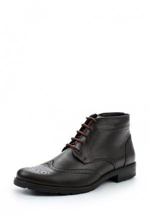 Ботинки классические Bekerandmiller. Цвет: коричневый