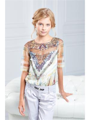 Блузка I love to dream. Цвет: молочный