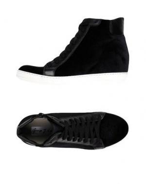 Высокие кеды и кроссовки GEORGE J. LOVE. Цвет: черный