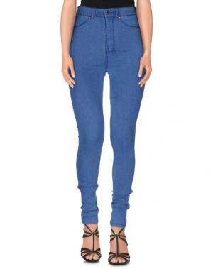 Джинсовые брюки DR. DENIM JEANSMAKERS. Цвет: синий