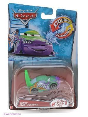 Машинка из серии Disney Cars Mattel. Цвет: салатовый, фиолетовый