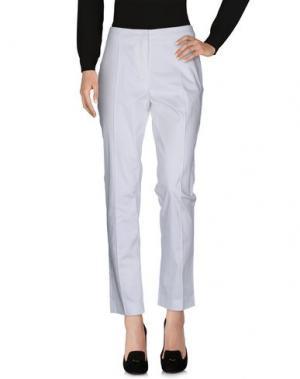 Повседневные брюки NATAN. Цвет: белый