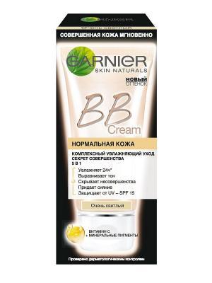 BB Крем Секрет Совершенства, для нормальной кожи, очень светлый, SPF 15, 40 мл Garnier. Цвет: бежевый