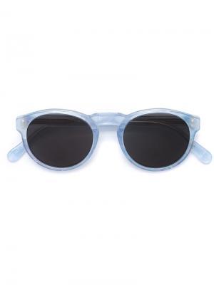 Солнцезащитные очки Paloma Retrosuperfuture. Цвет: синий