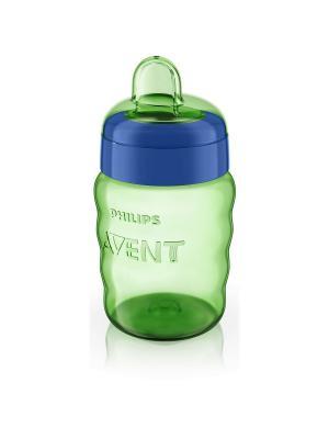 Чашка с мягким носиком Philips Avent SCF553/00, 260 мл, 12 мес.+. Цвет: зеленый
