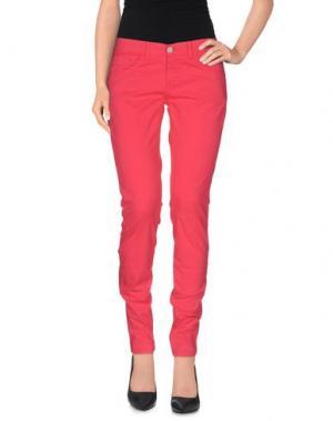 Повседневные брюки CLARK JEANS. Цвет: фуксия