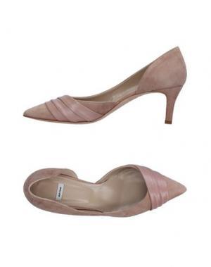 Туфли NATAN. Цвет: светло-коричневый