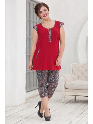 Комплект одежды CLEO. Цвет: бордовый