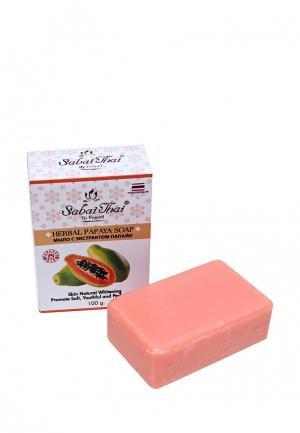 Мыло Sabai Thai Authentic SPA. Цвет: розовый