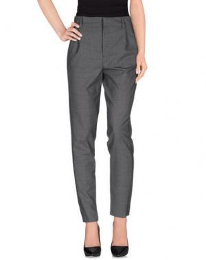 Повседневные брюки ANTHONY VACCARELLO. Цвет: серый
