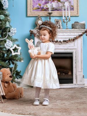 Платье Perlitta. Цвет: молочный