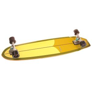 Лонгборд  Cx.4 Complete Hotdogger Assorted 10 x 42 (106.7 см) Carver. Цвет: зеленый,желтый