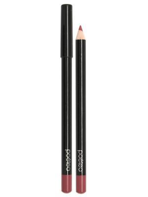 Кремовый карандаш для губ  MANGO тон 79 POETEA. Цвет: бордовый
