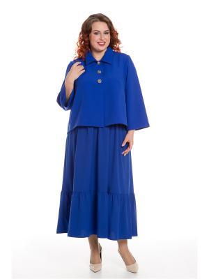 Жакет Luxury Plus. Цвет: синий
