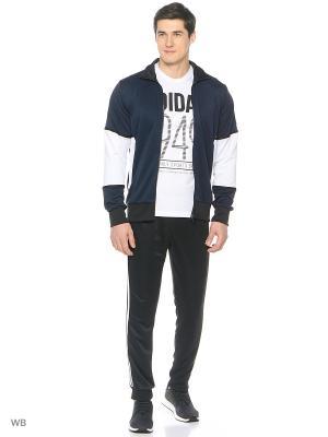 Костюм Adidas. Цвет: темно-синий, белый, черный