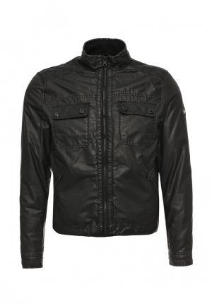 Куртка утепленная Gas. Цвет: черный