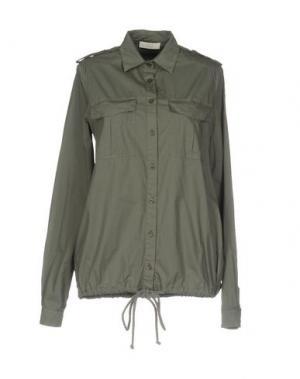 Pубашка E_GO' SONIA DE NISCO. Цвет: зеленый-милитари