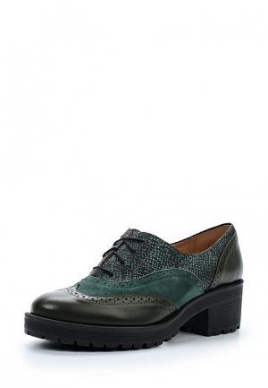 Ботинки Shoobootique. Цвет: зеленый