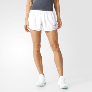 Спортивные шорты (трикотаж) M10 BOOST SHO W  Performance adidas. Цвет: белый
