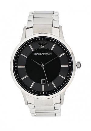Часы Emporio Armani. Цвет: серебряный